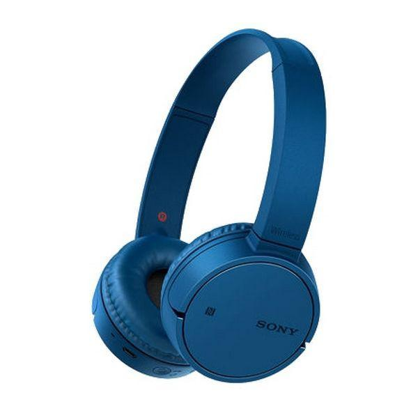 Bluetooth Headset with Microphone Sony MDRZX220BTL.CE7 Blue-Universal Store London™