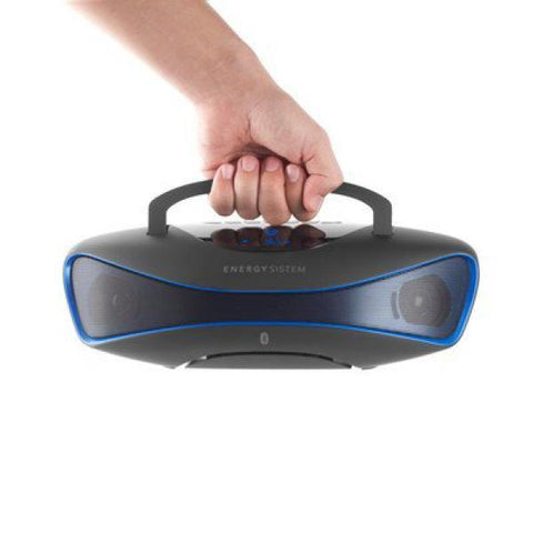 Bluetooth Music Box Energy Sistem 396948 BZ6 MP3+FM+USB Black Blue-Universal Store London™