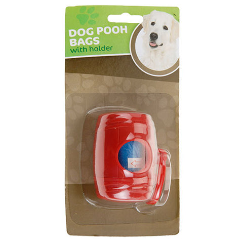 Dog Poop Bag Holder (with 15 Bags)-Universal Store London™