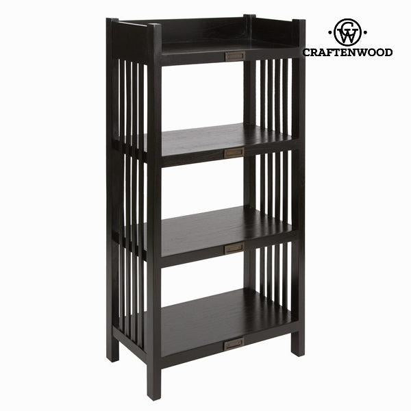 Bookcase 4 shelves - Chocolate Collection by Craften Wood-Universal Store London™