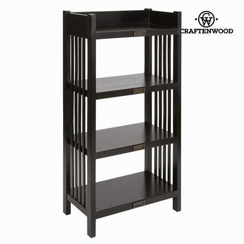 Image of Bookcase 4 shelves - Chocolate Collection by Craften Wood-Universal Store London™