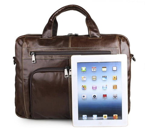 Image of Botolph Business Travel Leather Bag-Universal Store London™