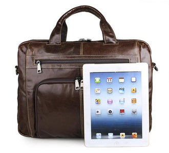 Botolph Business Travel Leather Bag-Universal Store London™