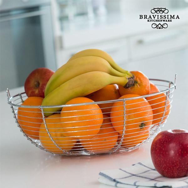 Bravissima Kitchen Metal Fruit Bowl-Universal Store London™