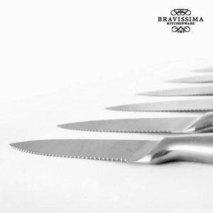 Bravissima Kitchen Professional Meat Knives (6 pieces)