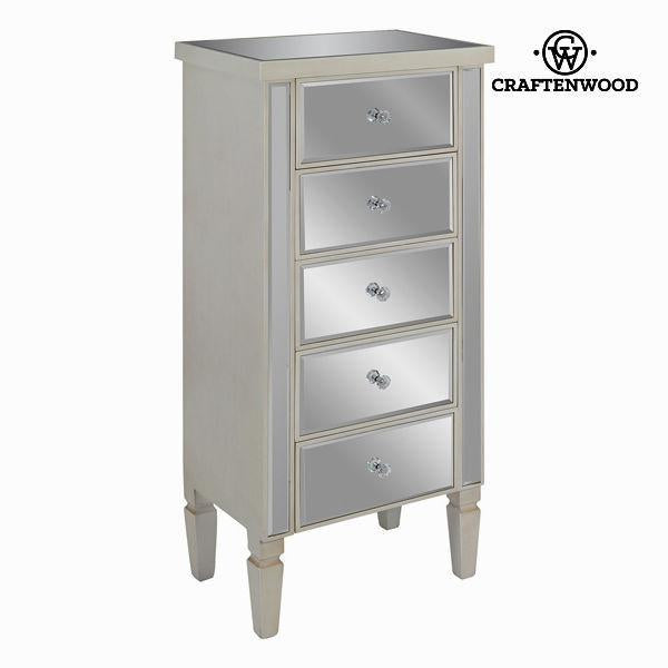 Brighton cream chest of drawers - Radiance Collection by Craften Wood-Universal Store London™