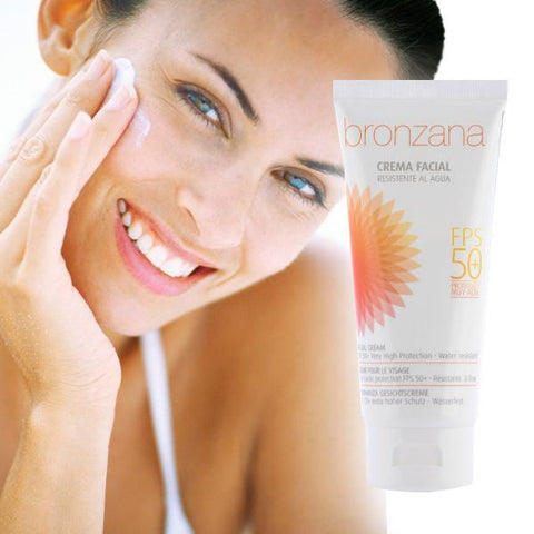 Image of Bronzana Facial Sun Cream SPF50-Universal Store London™