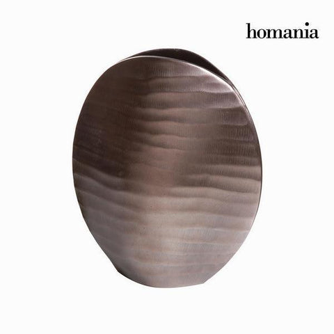 Image of Bronze oval vase - New York Collection by Homania-Universal Store London™