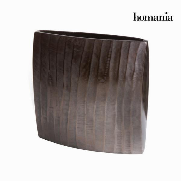 Bronze square vase - New York Collection by Homania-Universal Store London™