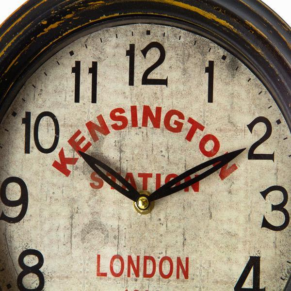 Brown double sided clock by Homania-Universal Store London™