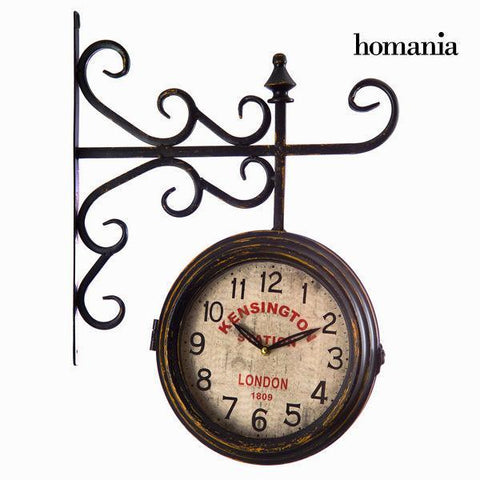 Image of Brown double sided clock by Homania-Universal Store London™