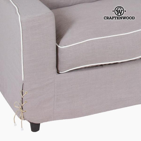 Image of Brown sofa 180x100x60 cm by Craftenwood-Universal Store London™