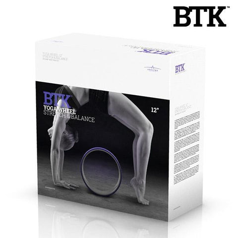 Image of BTK Yoga and Pilates Wheel-Universal Store London™