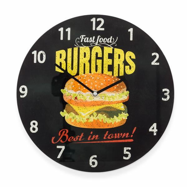 Burgers Wall Clock-Universal Store London™