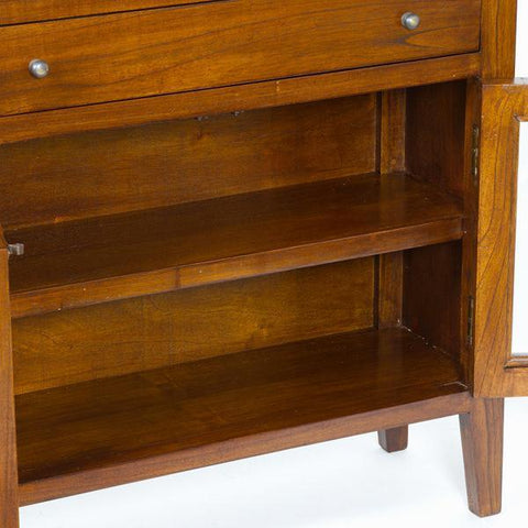 Image of Cabinet 4 drawers and 2 doors - Serious Line Collection by Craften Wood-Universal Store London™