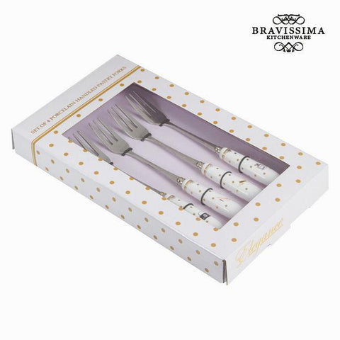 Image of Cake fork fashion - Kitchen's Deco Collection by Bravissima Kitchen-Universal Store London™