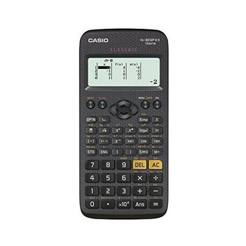 Calculator Casio FX-82 SPX Black-Universal Store London™