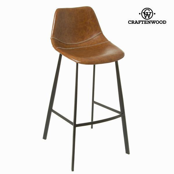 Camel colored stool atlantic by Craften Wood-Universal Store London™