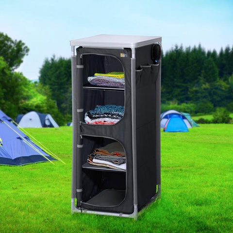 Image of Campart Travel CU0720 Camping Wardrobe-Universal Store London™