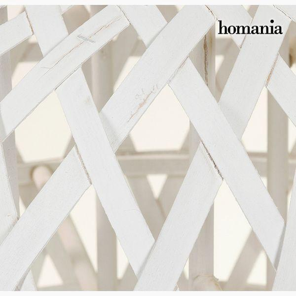 Candelabra White - Winter Collection by Homania-Universal Store London™