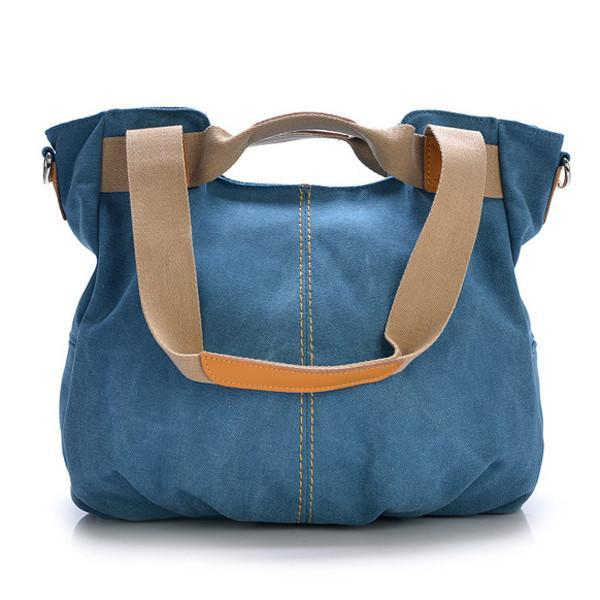 Canvas Casual Women Messenger Bag Handbag Shoulder Bag-Universal Store London™