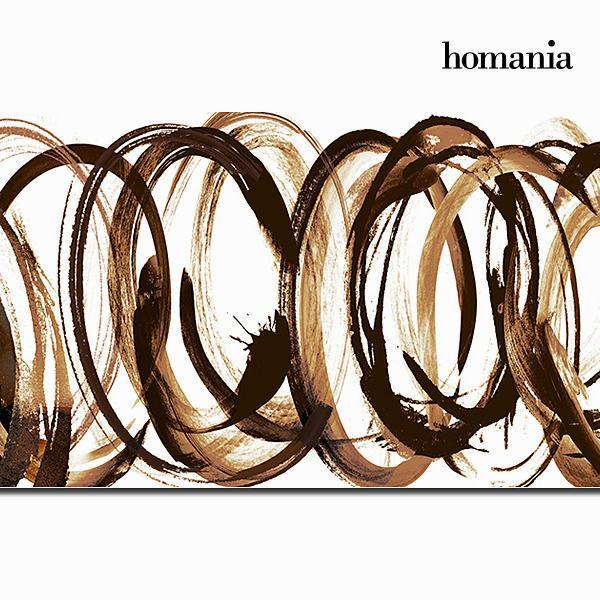 Canvas frame with brushstroke by Homania-Universal Store London™