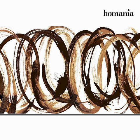Image of Canvas frame with brushstroke by Homania-Universal Store London™