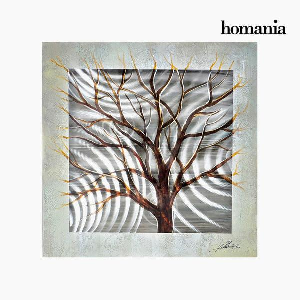 Canvas painting in aluminium by Homania-Universal Store London™
