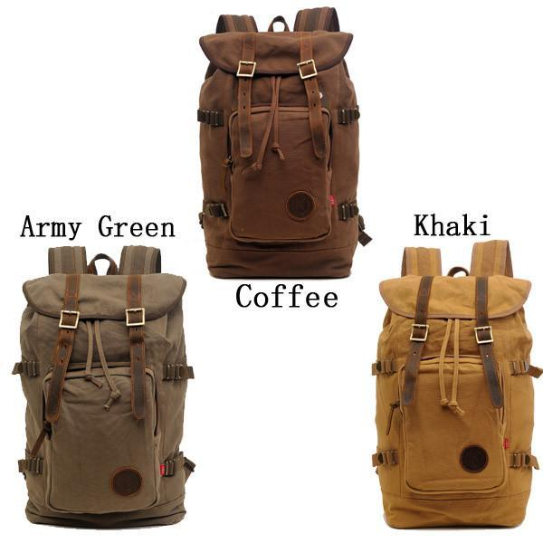 Canvas Travel Hiking Rucksack Backpack-Universal Store London™