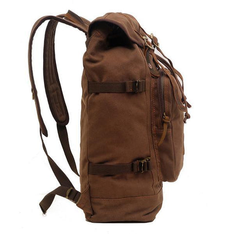 Image of Canvas Travel Hiking Rucksack Backpack-Universal Store London™