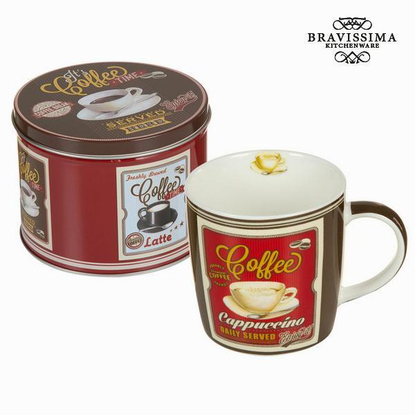 Cappuccino cup with box - Kitchen's Deco Collection by Bravissima Kitchen-Universal Store London™