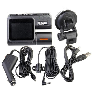 Car Black Box DVR HD 720P Dual Lens Dashboard Camera-Universal Store London™