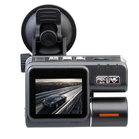 Image of Car Black Box DVR HD 720P Dual Lens Dashboard Camera-Universal Store London™