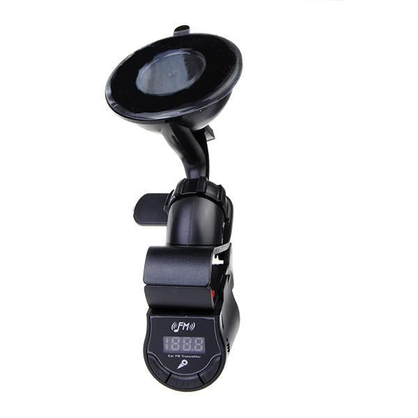 Car Phone Holder Handsfree FM Transmitter-Universal Store London™