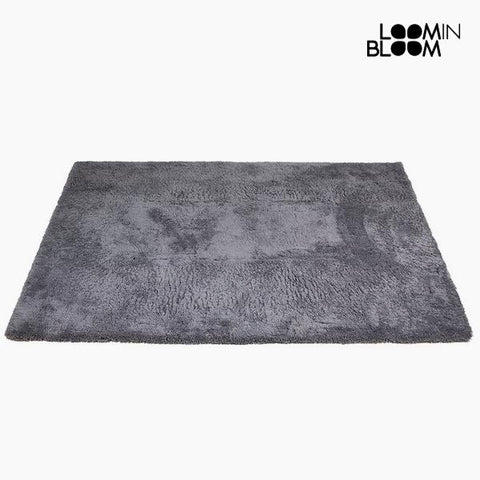 Carpet Polyester Grey (170 x 240 x 8 cm) by Loom In Bloom-Universal Store London™
