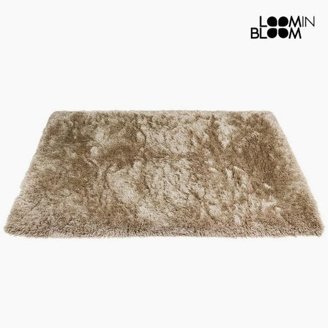Image of Carpet Polyester Silk Beige (170 x 240 x 8 cm) by Loom In Bloom-Universal Store London™