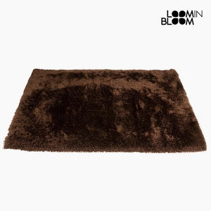 Carpet Polyester Silk Brown (170 x 240 x 8 cm) by Loom In Bloom-Universal Store London™