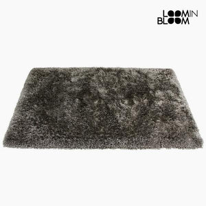 Carpet Polyester Silk Grey (170 x 240 x 8 cm) by Loom In Bloom-Universal Store London™