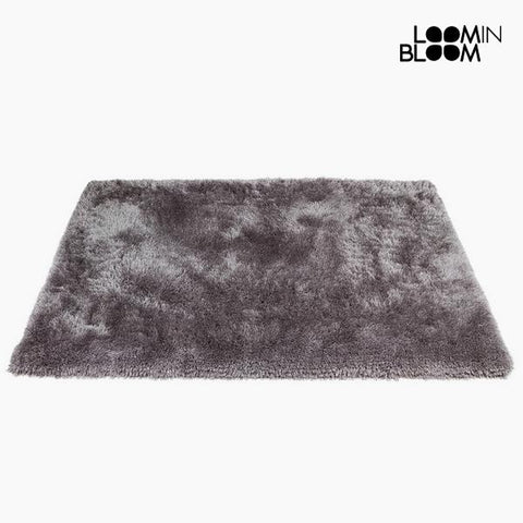 Image of Carpet Polyester Silk Grey (170 x 240 x 8 cm) by Loom In Bloom-Universal Store London™