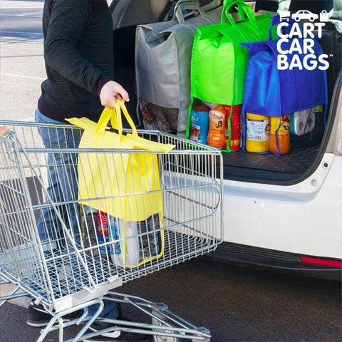 Cart Car Car Boot Carriers bags for Shopping (pack of 4)-Universal Store London™