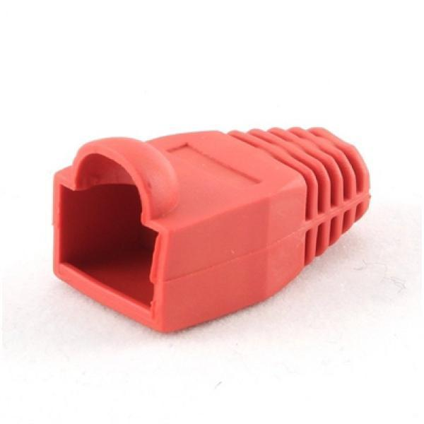 Case with RJ45 connector (pack of 10) iggual IGG312872 Red-Universal Store London™