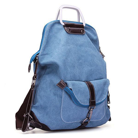 Image of Casual Canvas Backpack Handbag-Universal Store London™