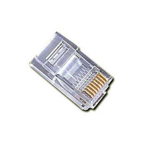 Image of Category 6 UTP RJ45 Connector iggual PSIPLUG3UP6/5(50) (50 pcs)-Universal Store London™