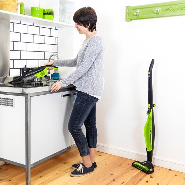 Cecoclean 5032 Duo Stick Power 2200W Bag-Free Cyclone Vacuum Cleaner-Universal Store London™