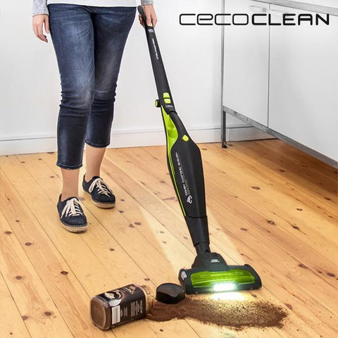 Image of Cecoclean 5032 Duo Stick Power 2200W Bag-Free Cyclone Vacuum Cleaner-Universal Store London™