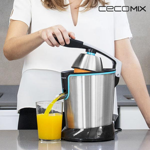 Cecomix Adjust Black 4077 Steel Electric Juicer with Handle 160W-Universal Store London™