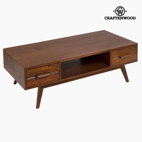Centre Table Mindi wood (2 drawers) (120 x 40 x 60 cm) by Craftenwood-Universal Store London™