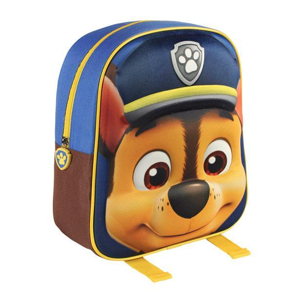 Chase (Paw Patrol) 3D School Backpack-Universal Store London™