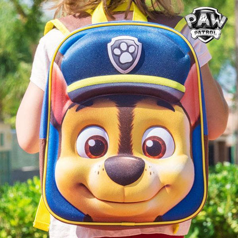 Image of Chase (Paw Patrol) 3D School Backpack-Universal Store London™