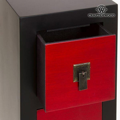 Image of Chest of drawers Mdf (25 x 24 x 108 cm) - Modern Collection by Craftenwood-Universal Store London™